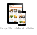 Re-7 - Compatible mobiles et tablettes